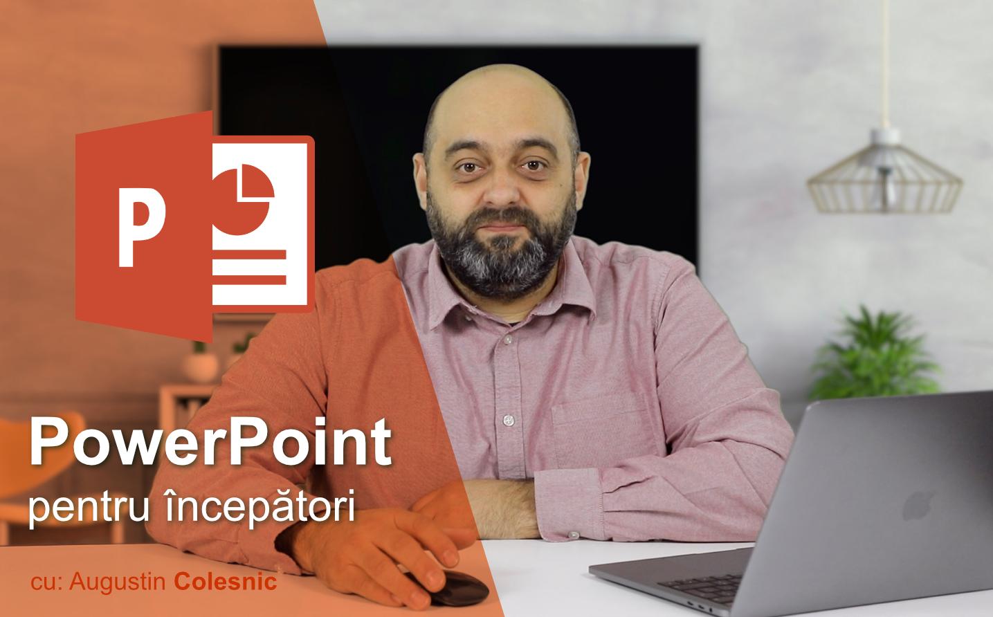 Curs de PowerPoint pentru începători - Inspicio - tutoriale video în limba română